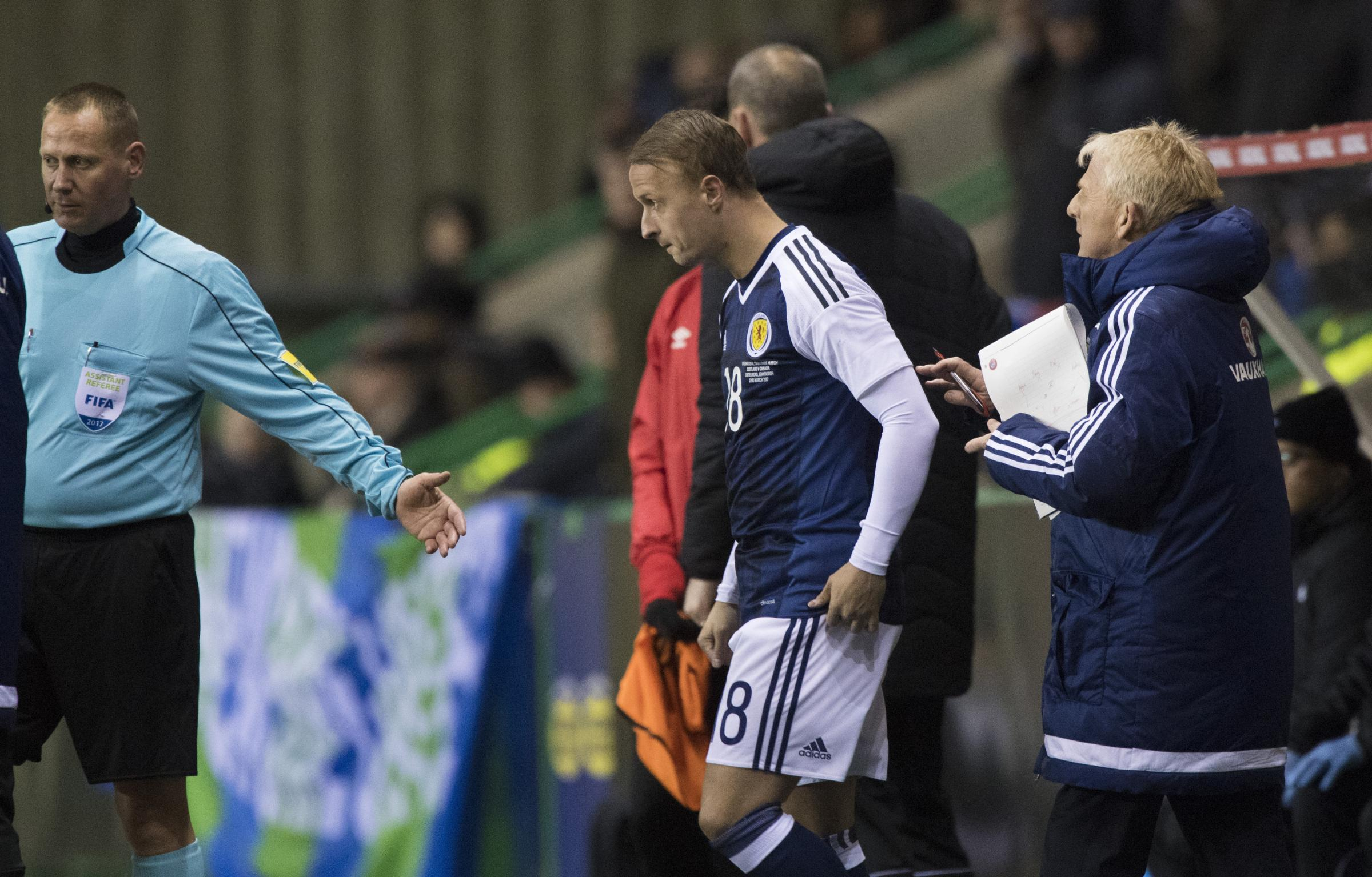 Leigh Griffiths can still be Scotland's bright hope despite being kept in the Celtic shadows