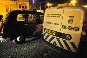 Hundreds of taxis put off Glasgow roads after enforcement team inspections deemed cars 'unfit'