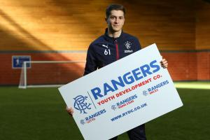 Myles Beerman chasing his dream at Rangers via Malta and Manchester