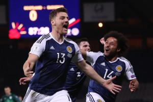 Chris Martin was the unlikely hero for Scotland at Hampden last night