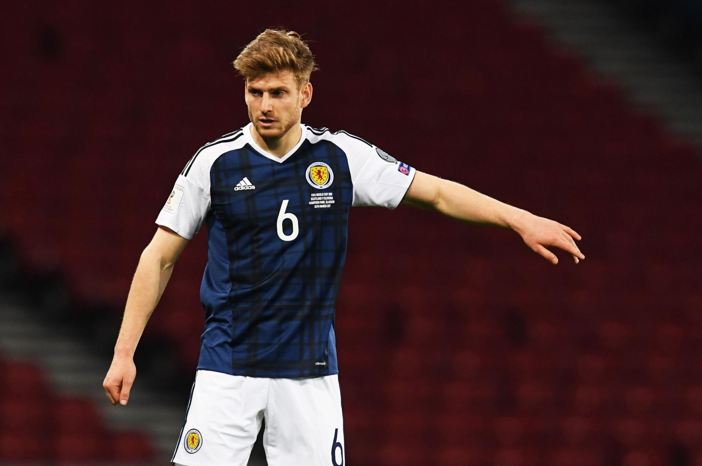 Celtic's Stuart Armstrong says starring role in Scotland debut was a proud moment for the family