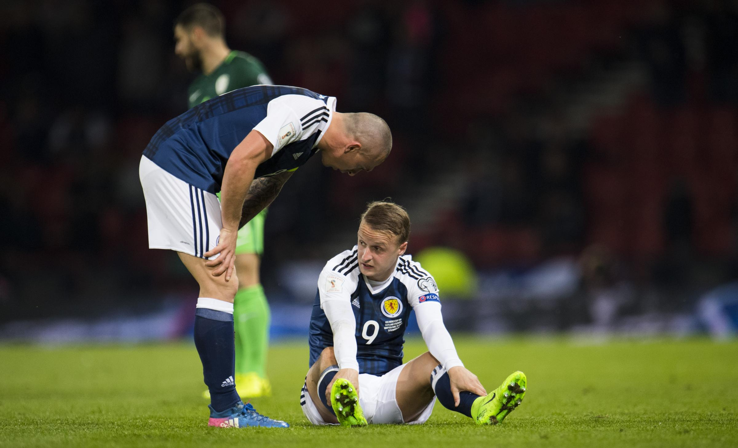 Gordon Strachan: Celtic striker Leigh Griffiths can recover from his Slovenia woe – and help Scotland gun down England