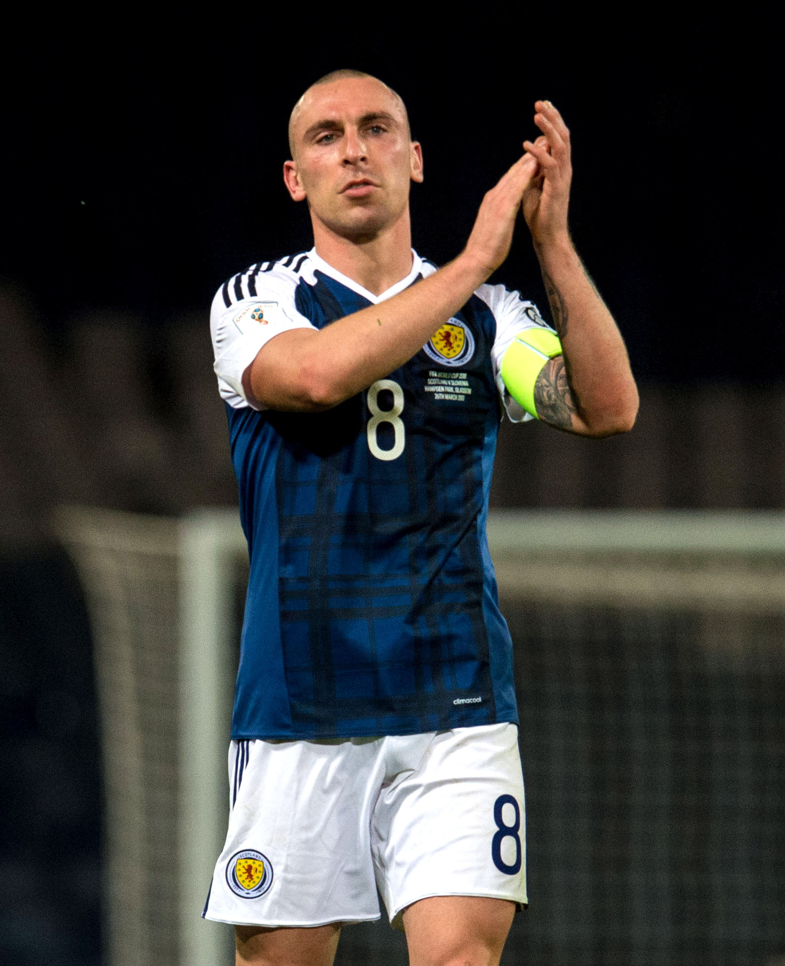 Celtic captain Scott Brown hints that he will seek Brendan Rodgers' blessing to captain Scotland v England