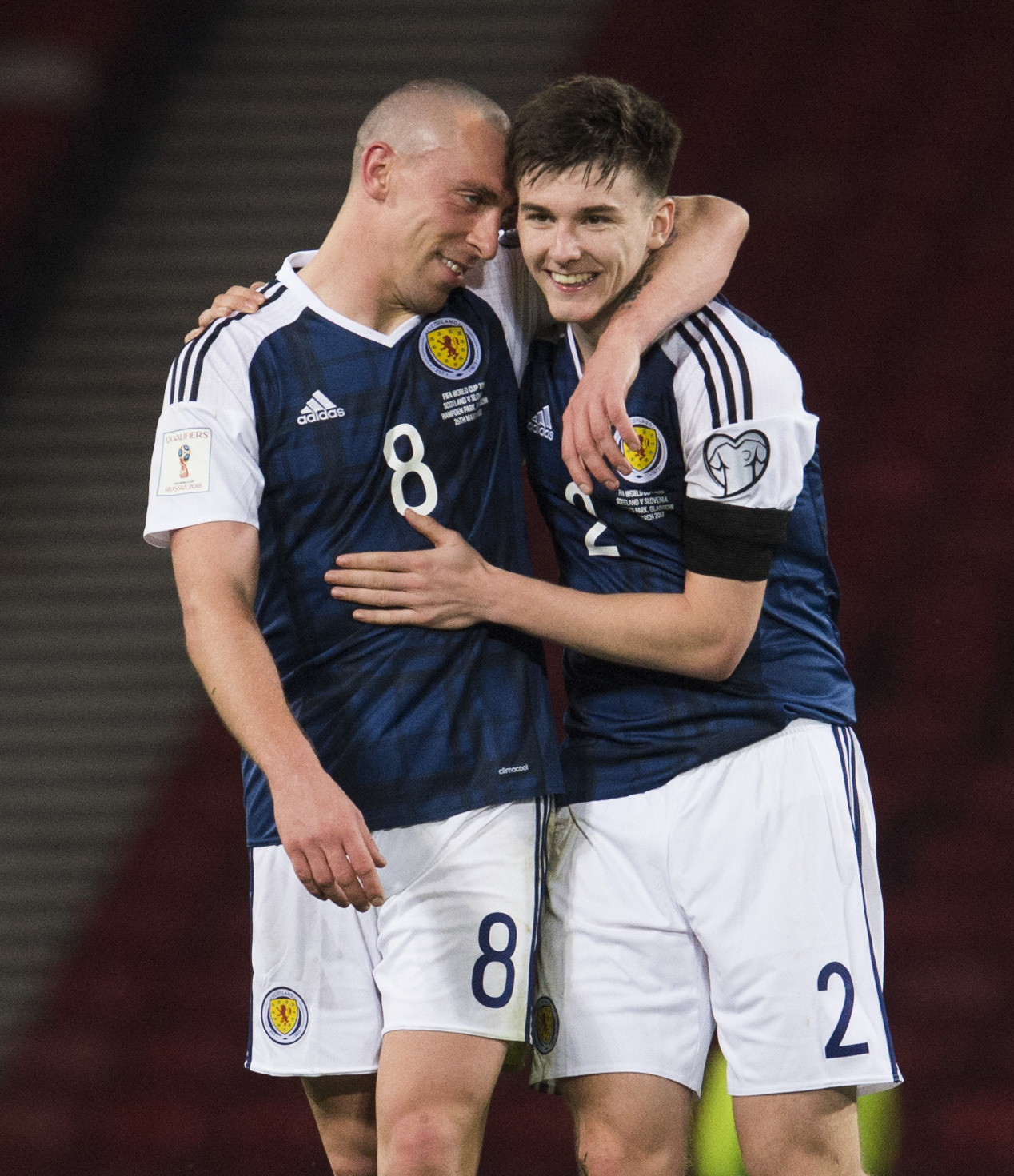 Scott Brown looking for Gordon Strachan to keep Celtic influence on national team