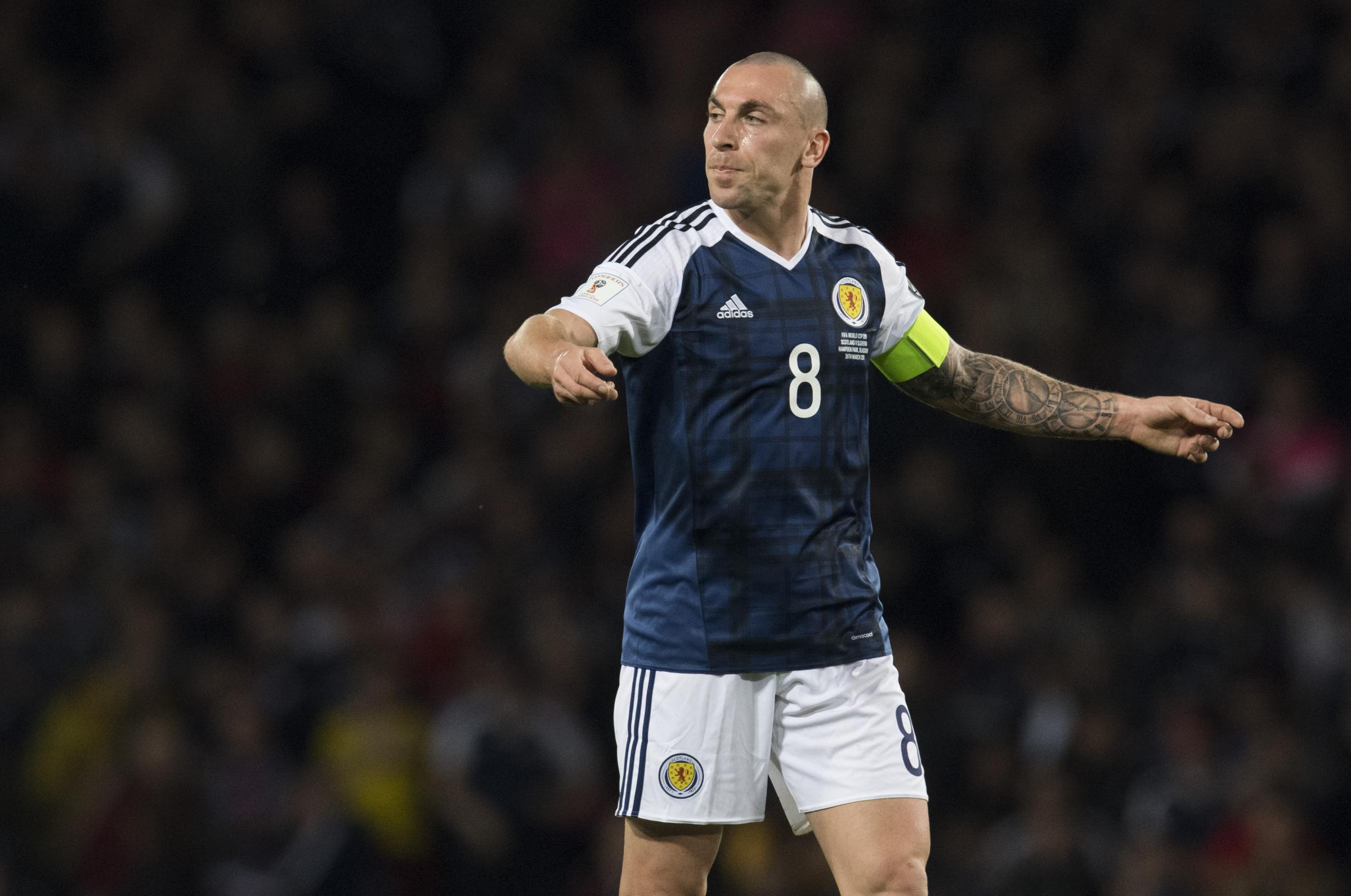Hoops skipper Scott Brown the Celtic player to have captained his country the most times