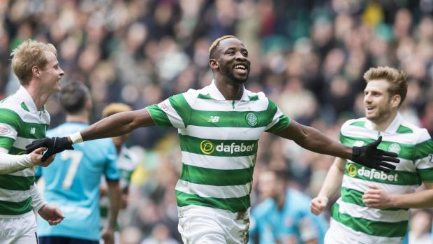 Evening Times: Celtic striker Moussa Dembele dismisses 'warning' talk after draw with Rangers