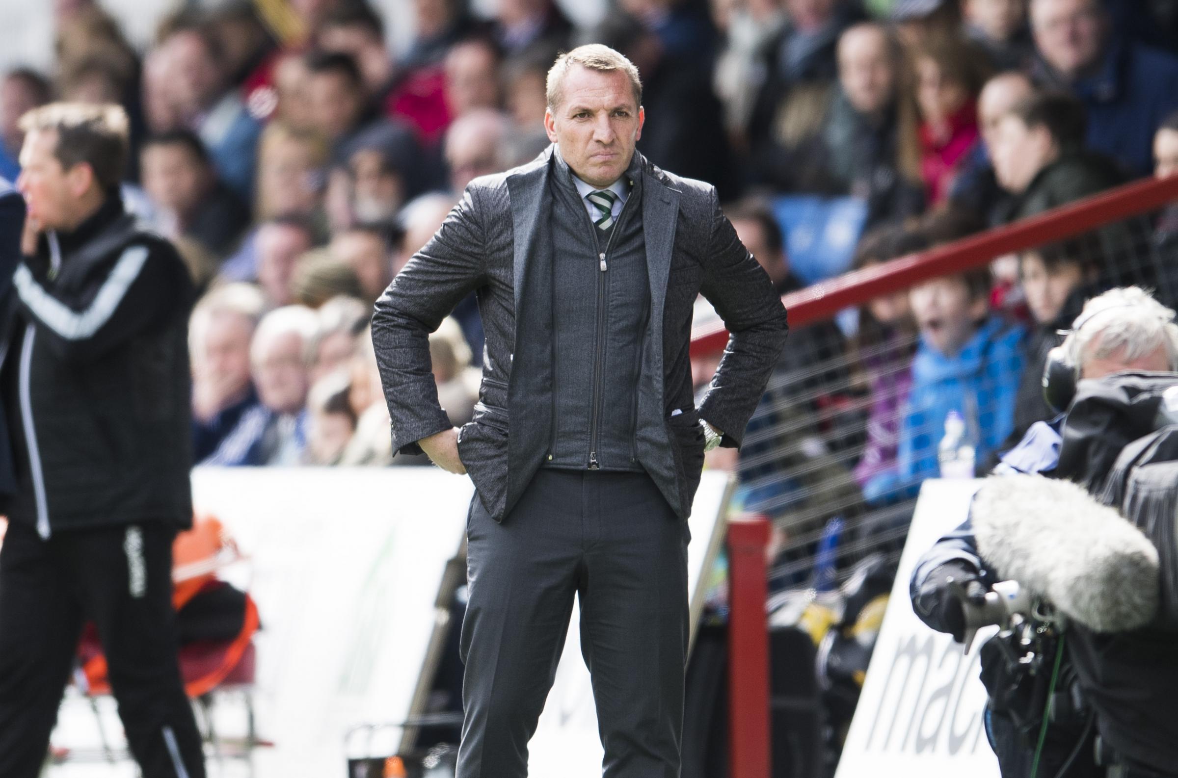 Under-fire ref Don Robertson owes Celtic defender Erik Sviatchenko an apology – Brendan Rodgers