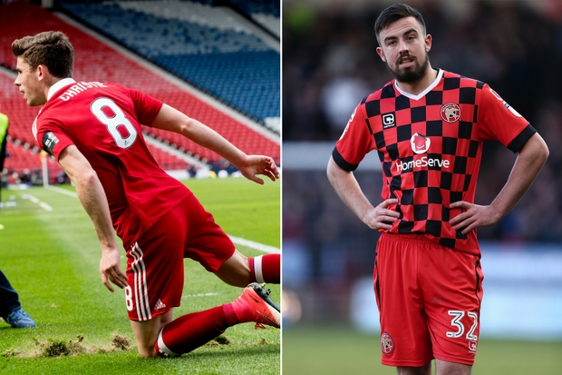 Celtic loan watch: Ryan Christie helps Aberdeen to Scottish Cup final, Eoghan O'Connell sees red with Walsall