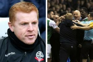 Hibs boss Neil Lennon given two-match ban over Jim Duffy bust-up