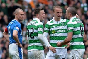 Celtic's Scott Brown reveals the extent o which Rangers were on the ropes