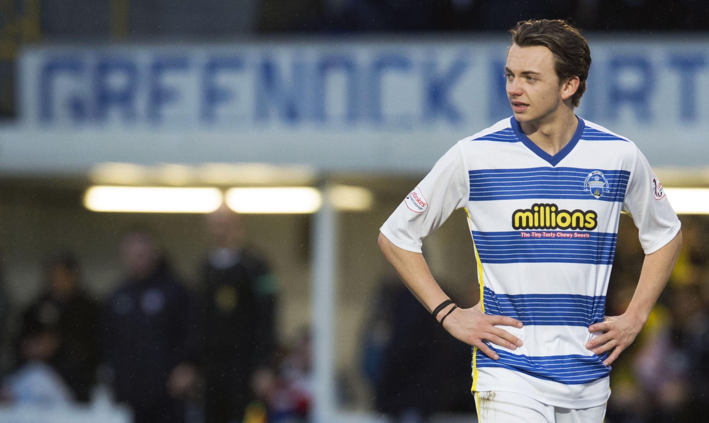 'I want to follow Kieran Tierney example into Celtic first team' says Aidan Nesbitt