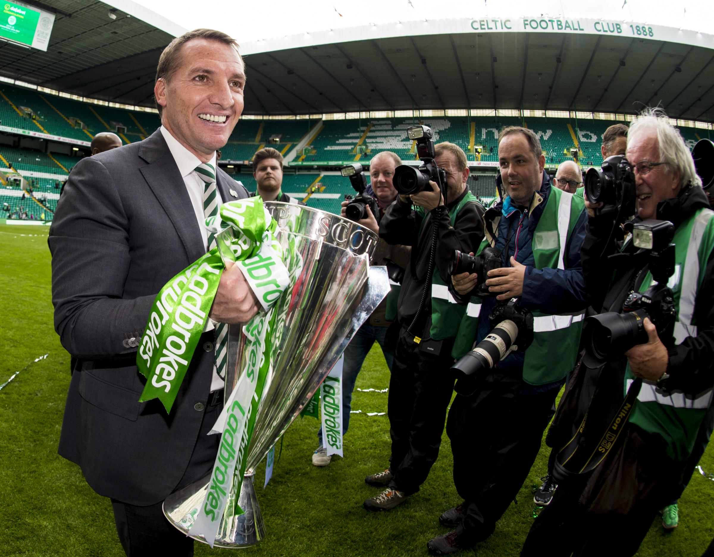 The History Makers: Celtic fans honour two special teams on a memorable day at Parkhead