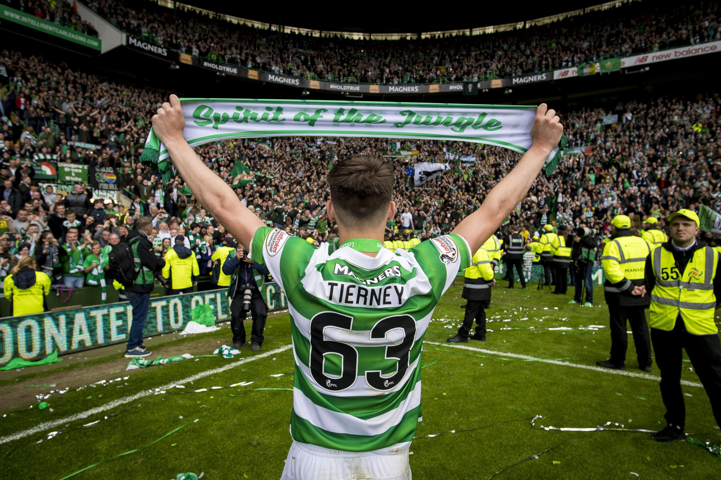 Kieran Tierney insists Celtic all ready for one final push as Treble looms