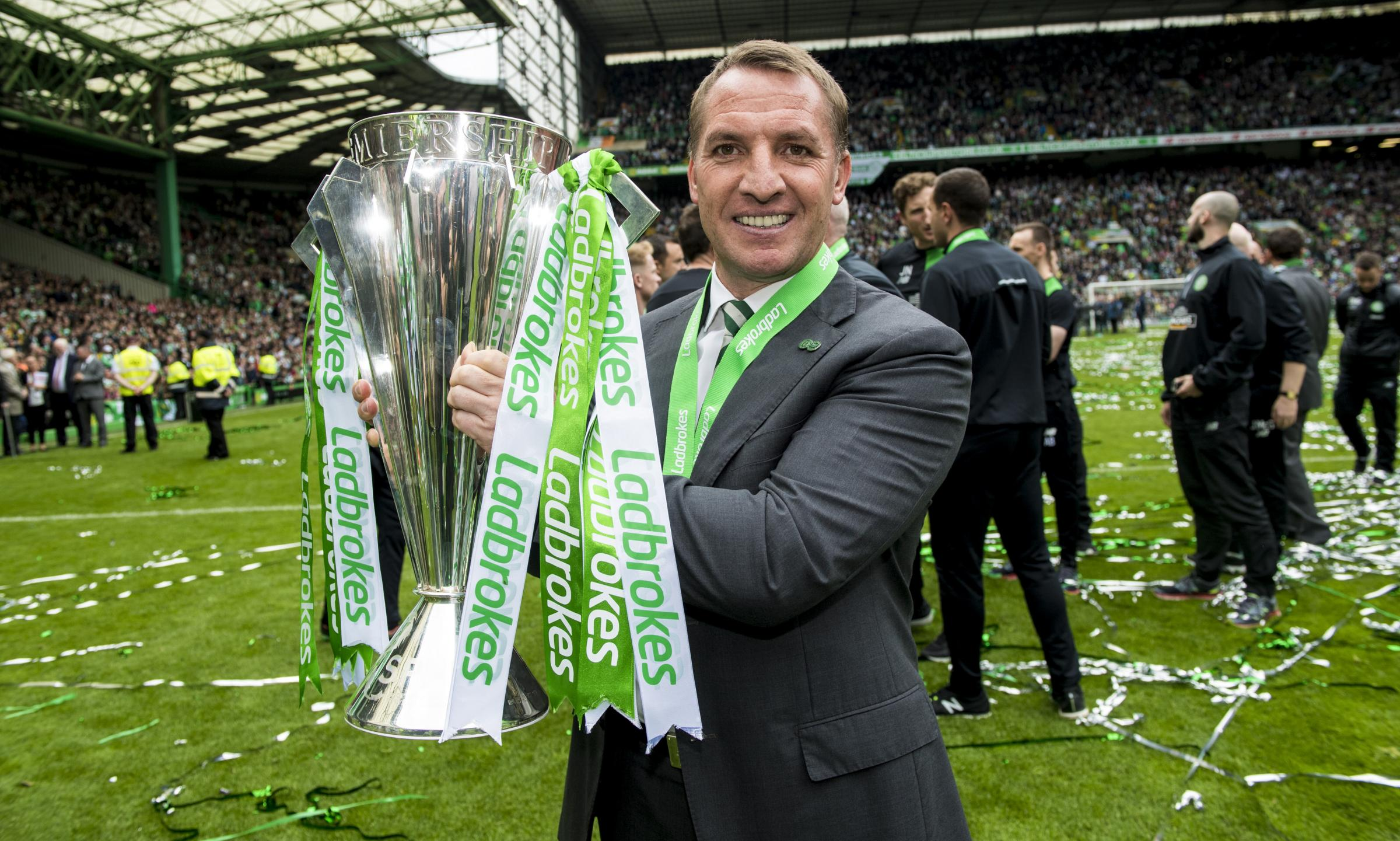 Celtic boss Brendan Rodgers spells it out for history Bhoys