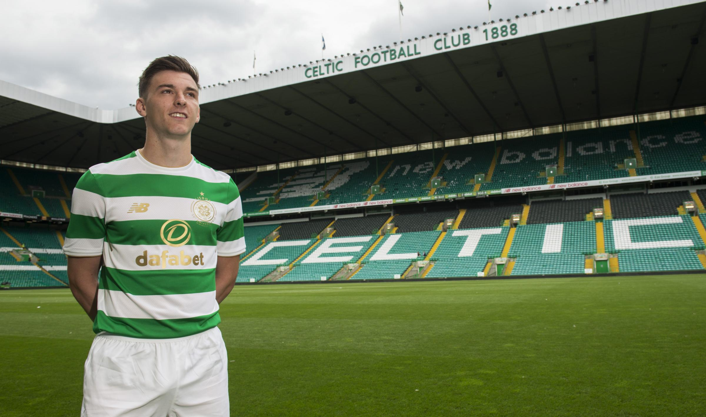 Kieran Tierney: Playing for Celtic means more to me than earning big money down south