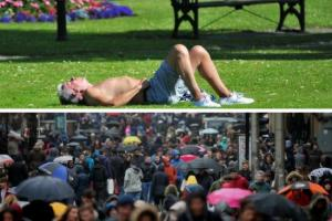 Evening Times: Hopes of scorching bank holiday weekend dampened by forecasters