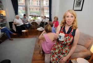 Evening Times: Would you open up your home to lonely OAPs for tea?