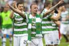 Leigh Griffiths has laughed off Dave King's remarks that Celtic should be further ahead of Rangers