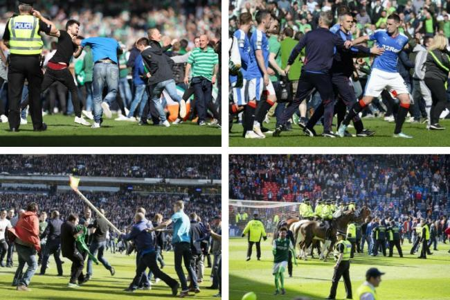 Cops reveal how many Scottish Cup Final hooligans they have snared - after hundreds of mugshots released