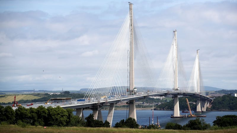 "226,000 people apply for ""once-in-a-lifetime"" chance to walk over £1.35bn Queensferry Crossing"