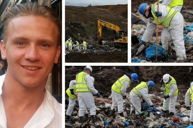 Police resume landfill search for missing Scots RAF gunner Corrie McKeague