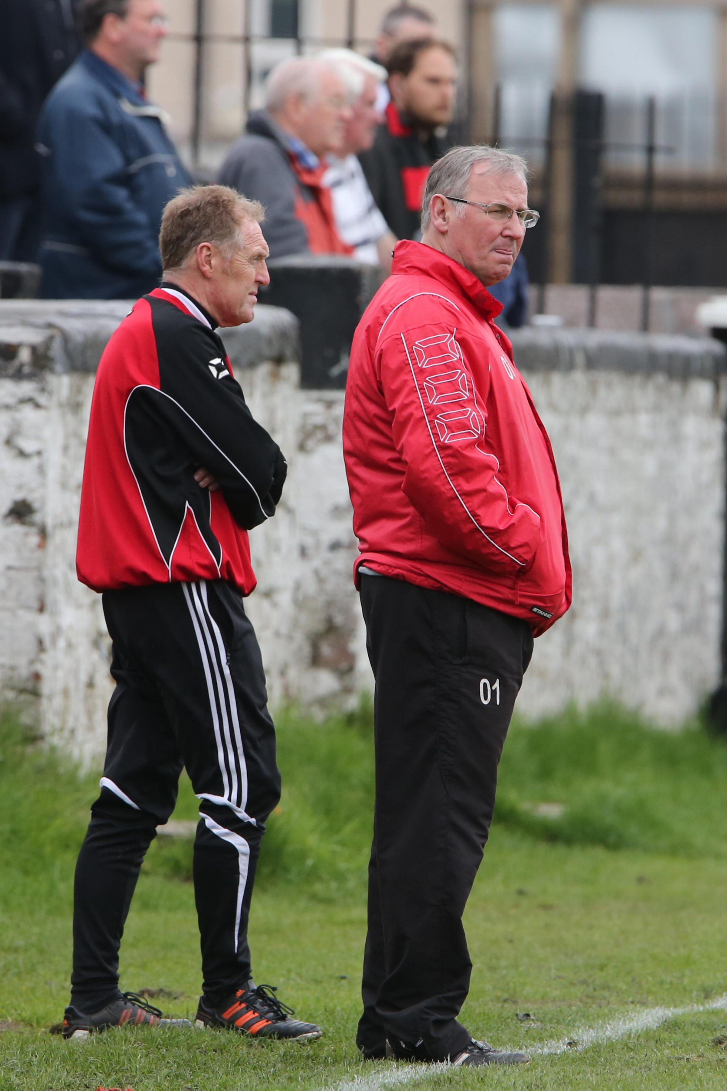 Port Glasgow boss Brian Heron is coming up against one of his old clubs, Maryhill, in a friendly on Saturday
