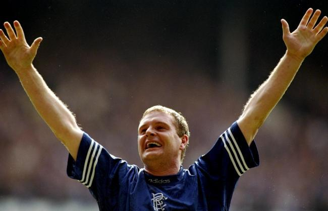'No one can take this away from me': Gazza shares throwback Rangers 9-in-a-row picture