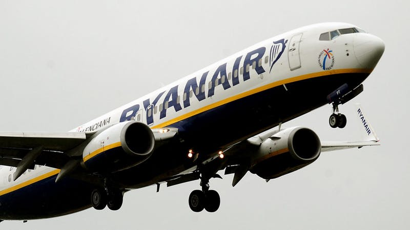 Ryanair warns customers to beware of fake 'free tickets' scam