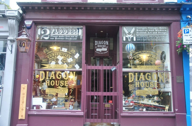 Diaon House Edinburgh Harry Potter
