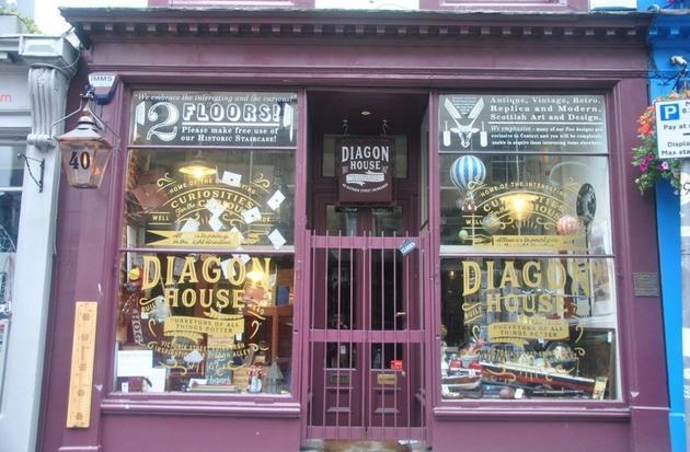 Diaon House Edinburgh Harry Potter