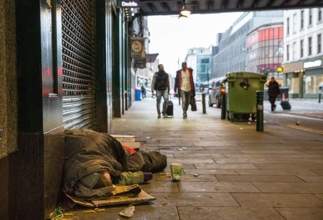 Help the Homeless Glasgow are holding a sleepout
