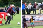 Still Game stars Jack and Victor prove they've still got it by taking to football pitch