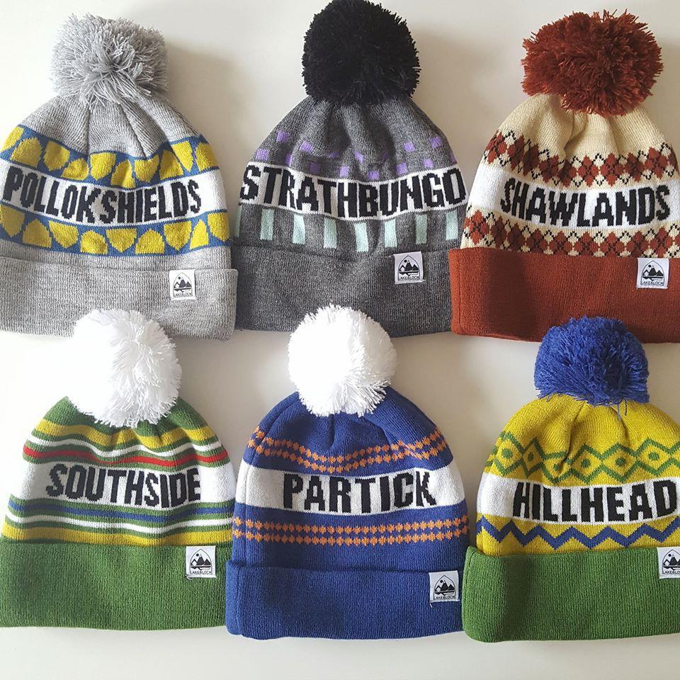 96c0681cc4 Glasgow designer creates hat range emblazoned with different parts of the  city