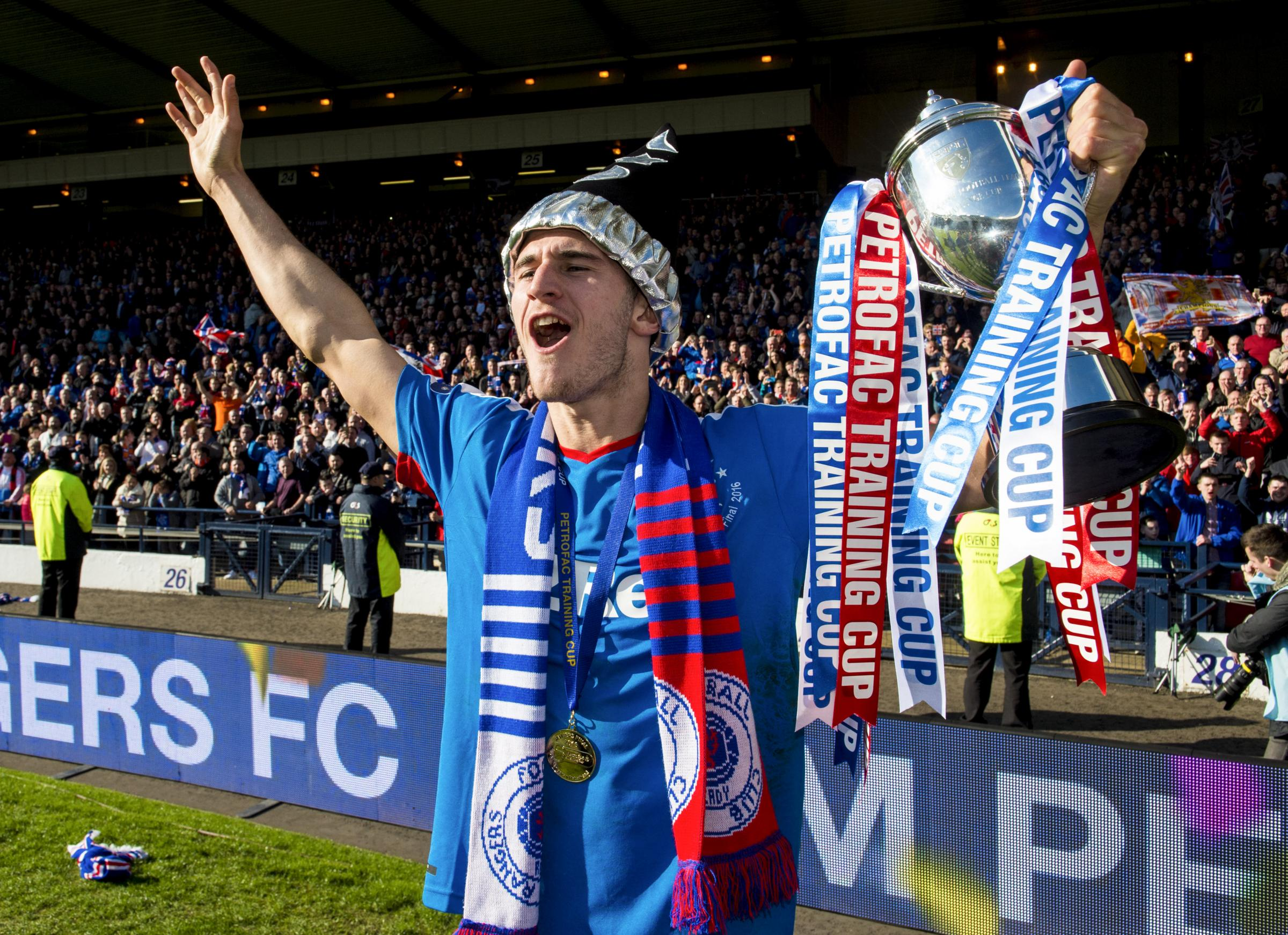 Rangers' Dominic Ball