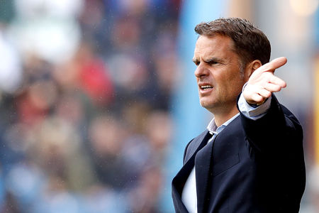 De Boer was sacked by Crystal Palace after just four games