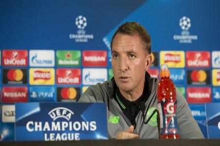 Evening Times: Celtic manager Brendan Rodgers speaks to the media ahead of tonight's meeting with PSG