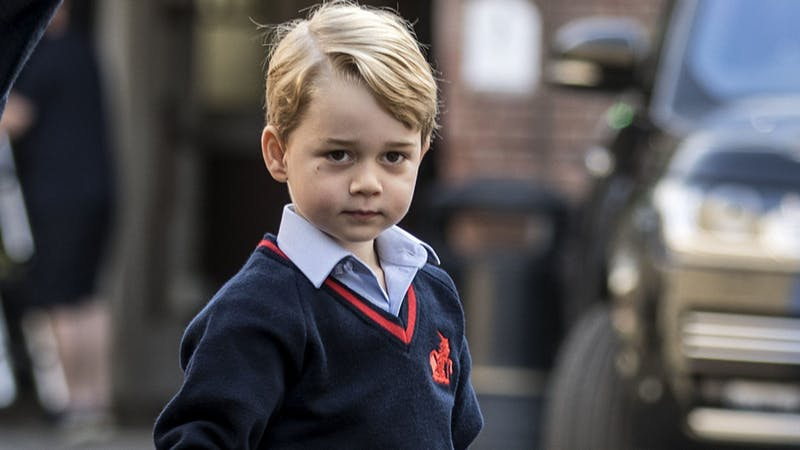 George heading back to school amid security review following 'break-in'