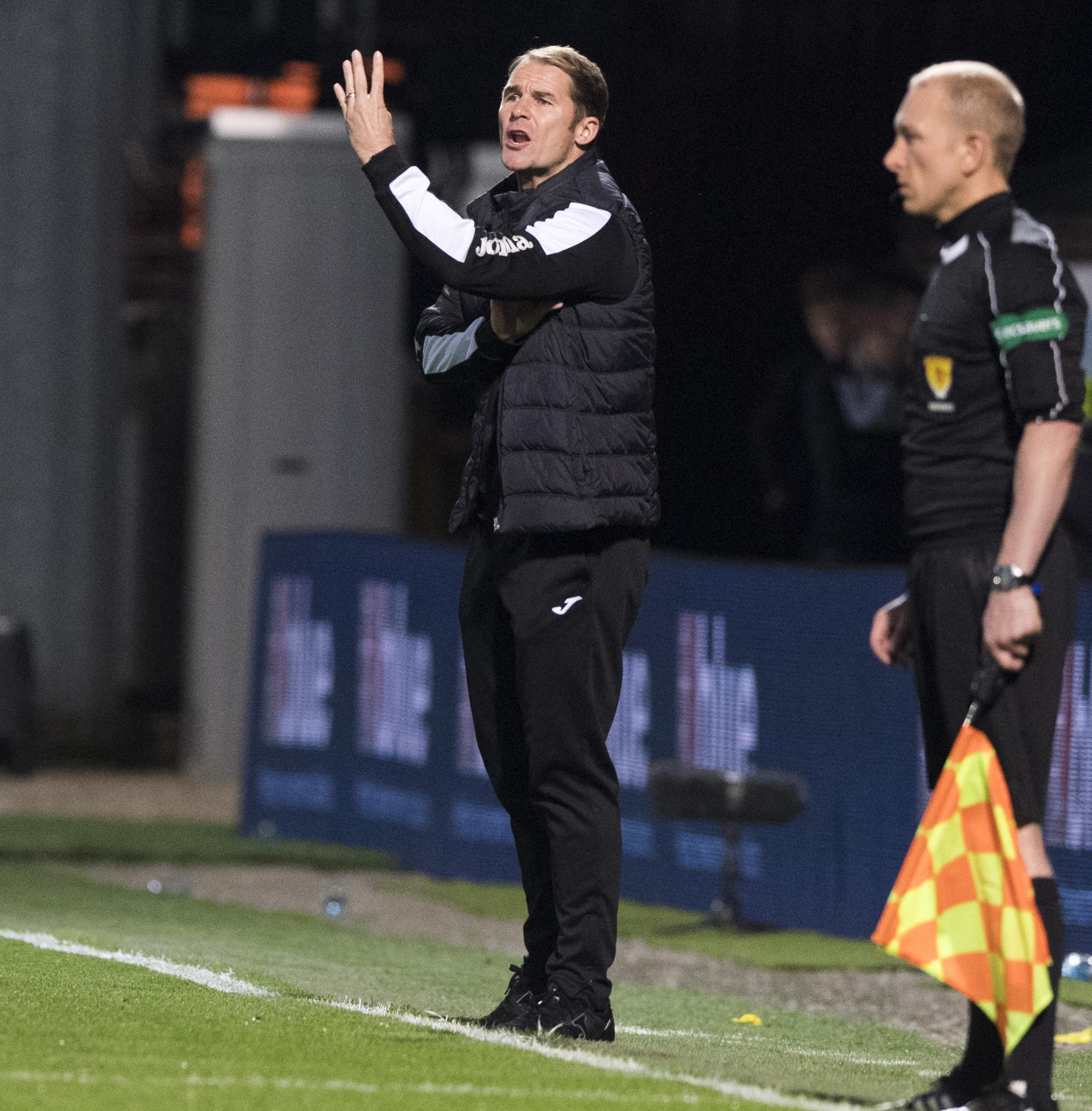 Turning point: Alan Archibald thinks Partick Thistle are back on the right track after draw with Rangers.