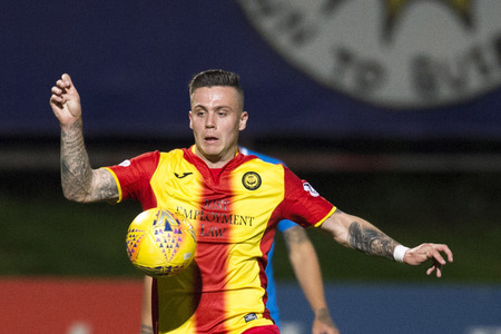Miles Storey in action for Partick Thistle