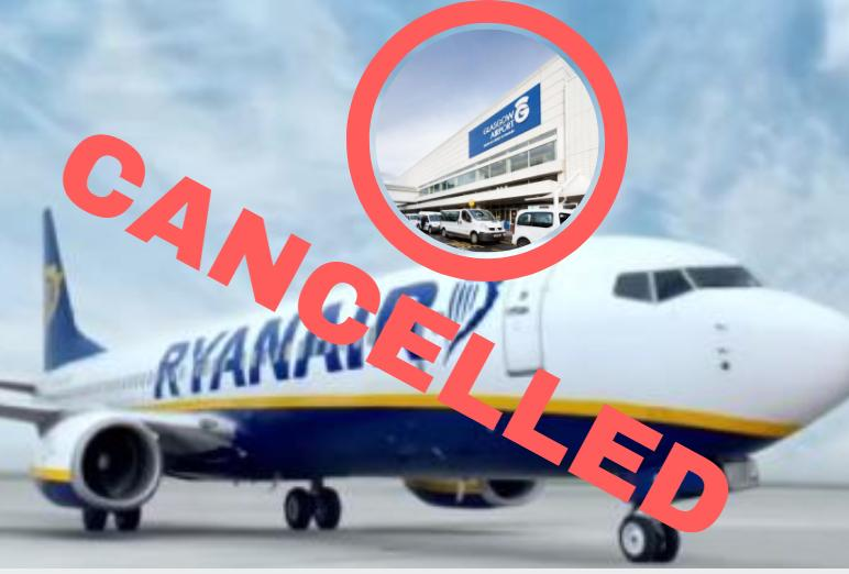 All you need to know about Glasgow flights affected by Ryanair cancellations