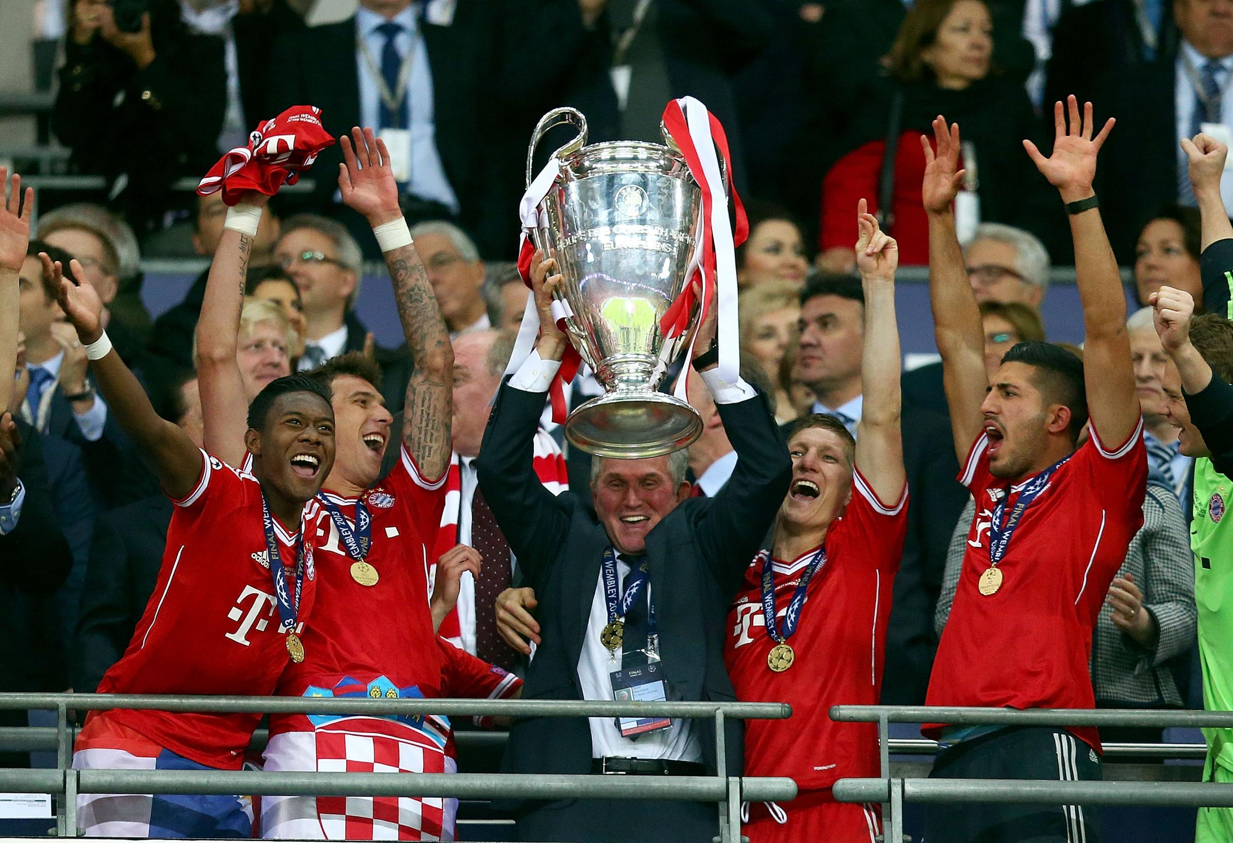 Heynckes led Bayern to Champions League glory in 2013