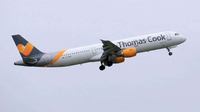 Six passengers take ill aboard Thomas Cook flight to Glasgow