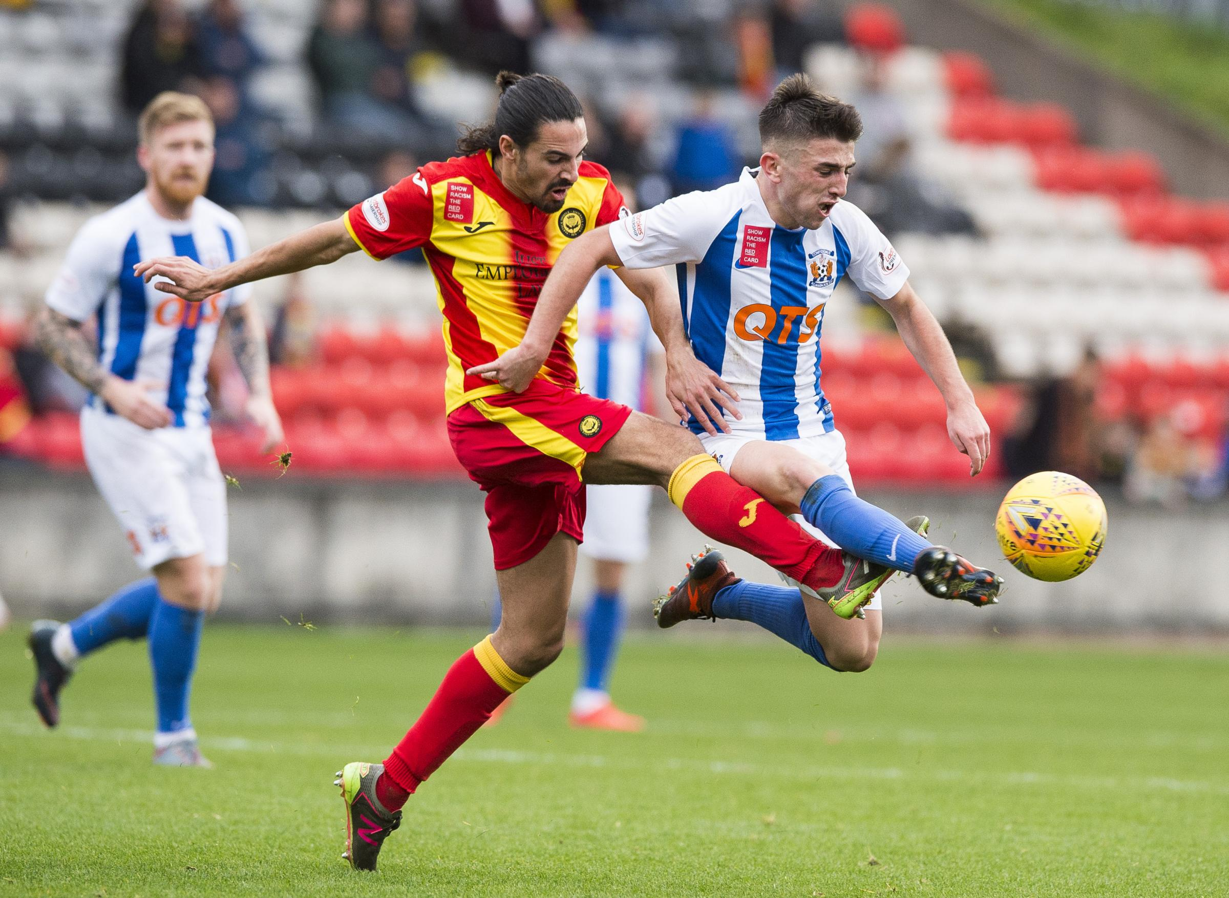 Digging in: Ryan Edwards says that Partick Thistle's recent performances have been unacceptable.