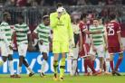 Celtic goalkeeper Craig Gordon shows his frustration at full-time in Munich on Wednesday night.