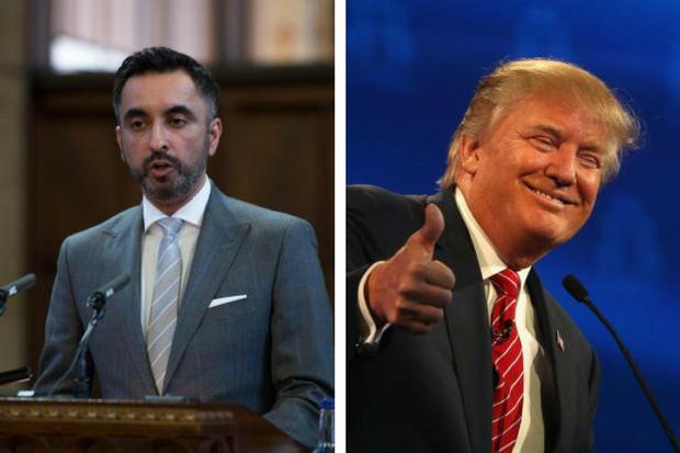 Glasgow lawyer Aamer Anwar calls President Trump a f** in Twitter spat