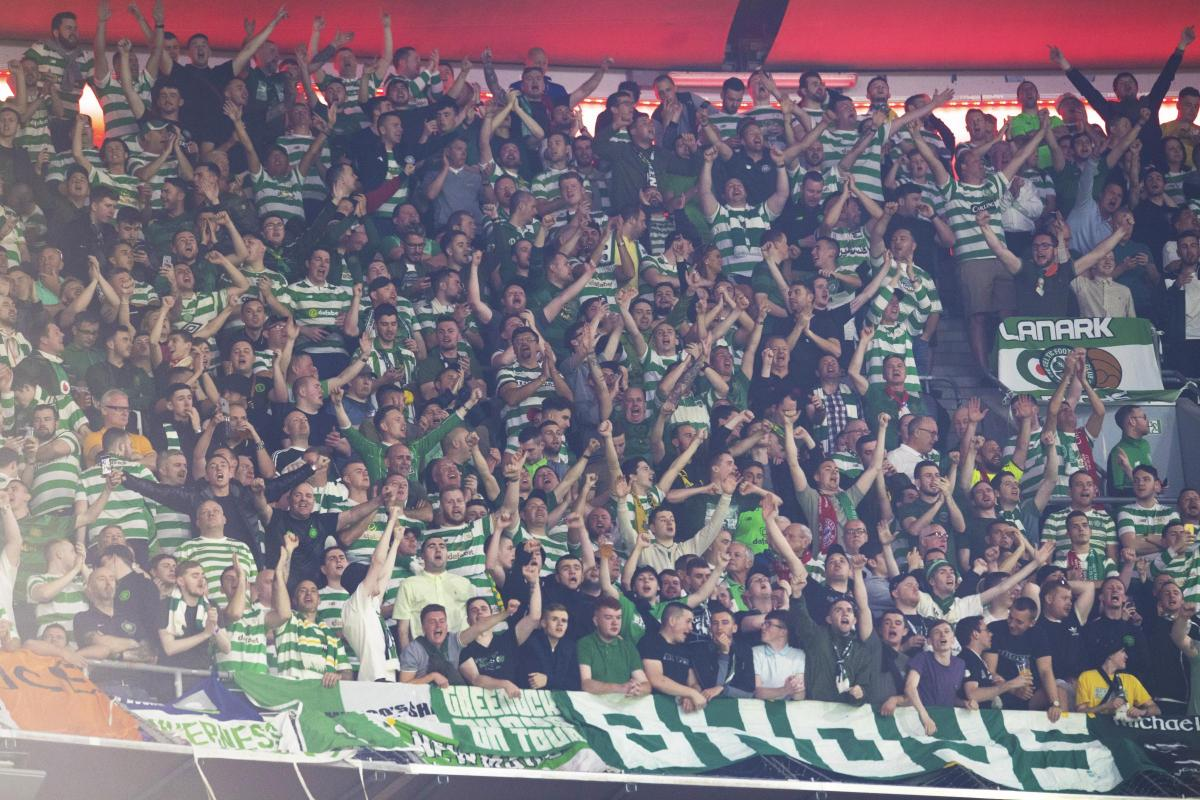 Celtic fans 'praised' by Munich police, says club - despite German press branding them 'piglets'