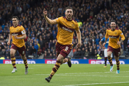 Louis Moult has been a revelation at Motherwell since joining from Wrexham.