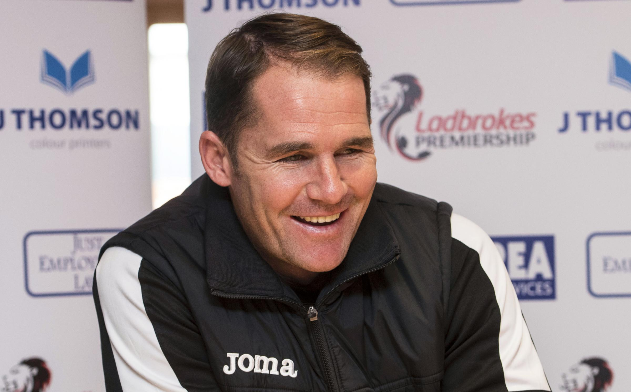 All smiles: Partick Thistle manager Alan Archibald is savouring a first league win of the season (Picture: SNS)