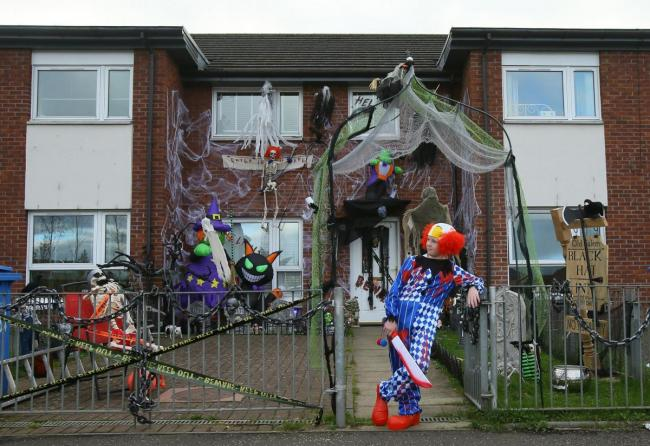 Can Your Halloween Decorations Top This House From Last Year