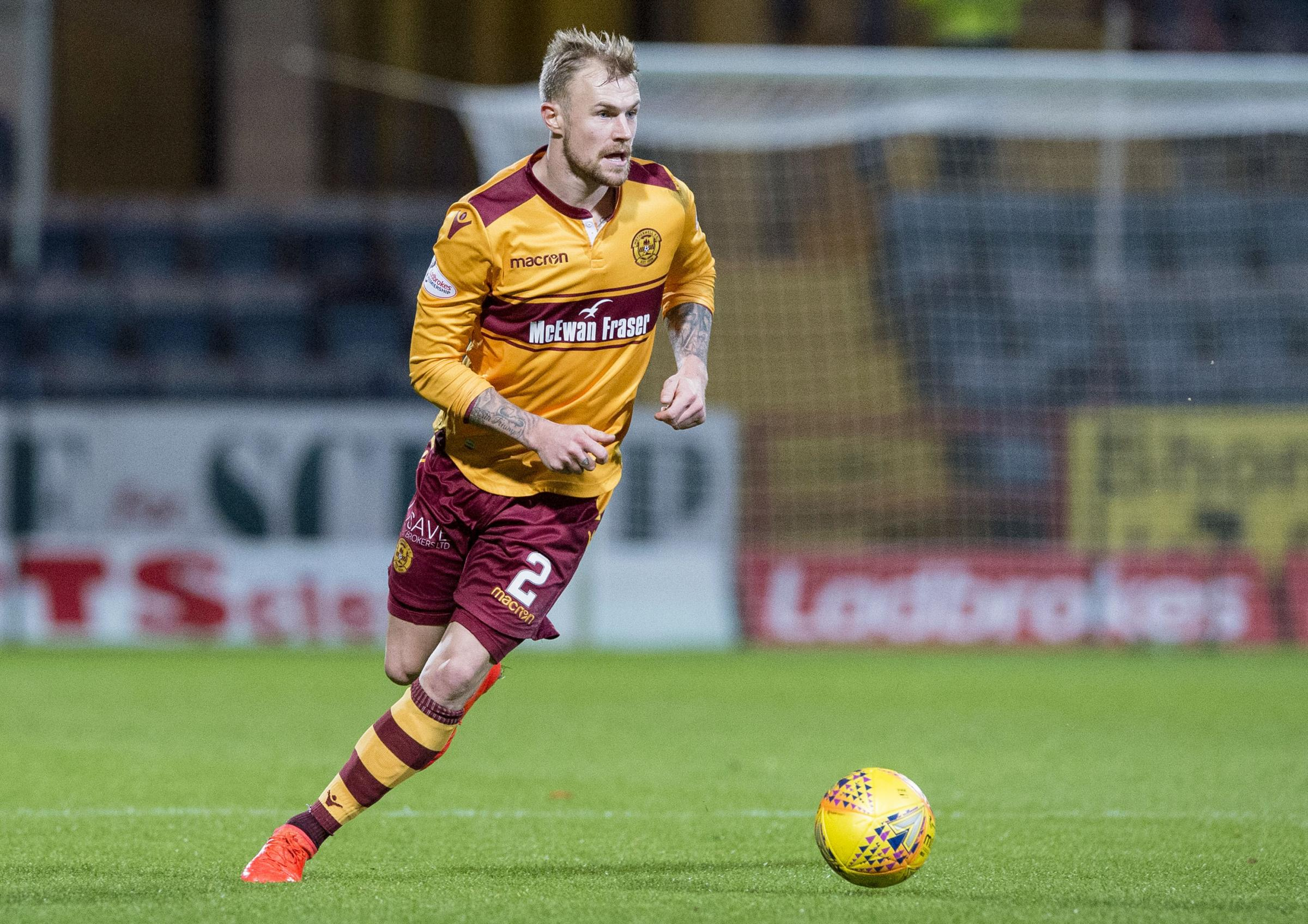 Richard Tait has been in great form for Motherwell during their recent fine run.